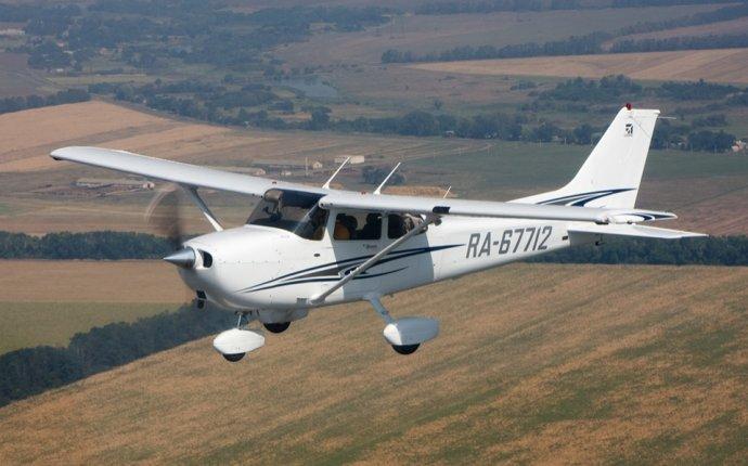 Аэроселфи на борту легкомоторного самолета от компании «Балтийский
