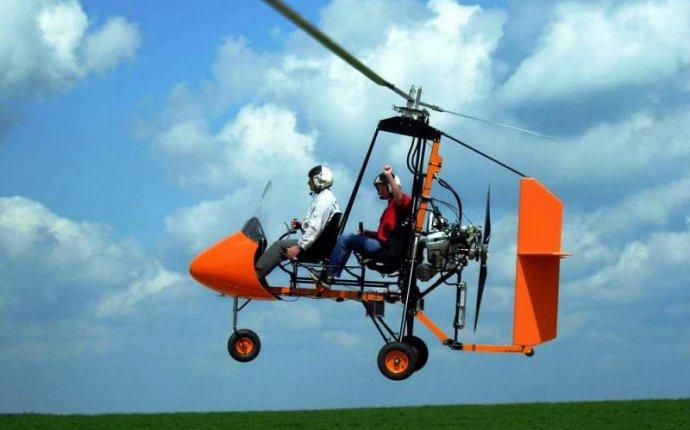 Автожир АМ-1. Идеальный пилотажный автожир. Автожиры видео