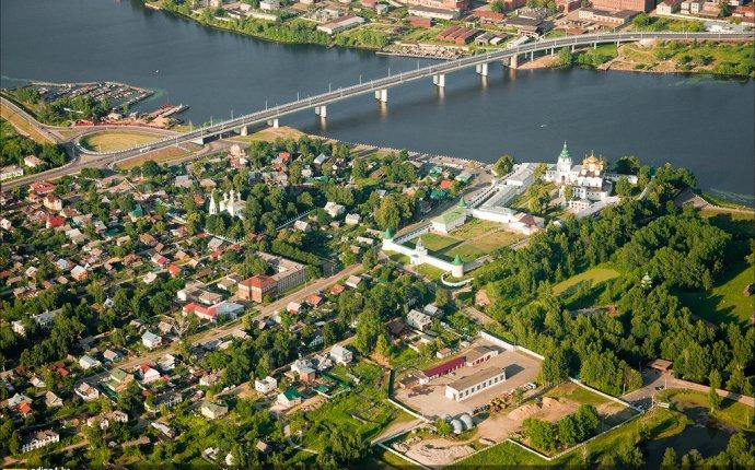 Кострома с высоты (лето 2011) - Экстрим. Путешествия. Фотографии