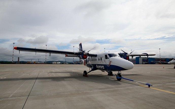 Купленный для внутренней авиации самолет презентовали в Приморье