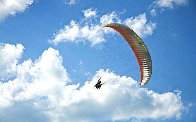 Организация полетов на параплане - полеты над Ладогой