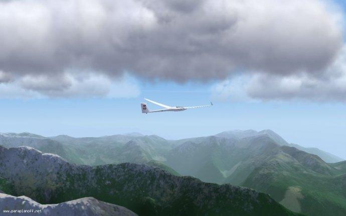 Планерный симулятор полезно для изучения парящих полетов