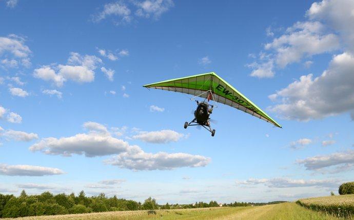 Полет на мотодельтаплане в центре отдыха «Авиа Менск»