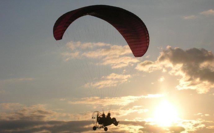 Полет на параплане Екатеринбург
