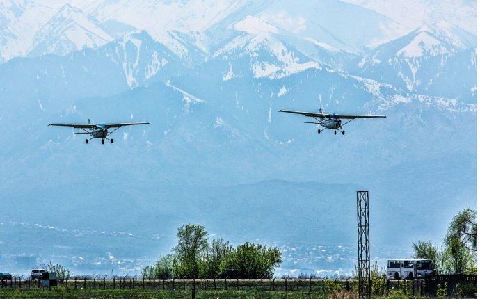 Сколько в Казахстане частных самолетов и вертолетов — Процесс