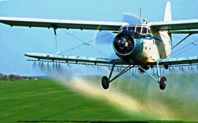 Внесение гербицидов самолетами малой авиации - Авиахимработы